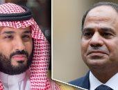 الرئيس السيسي يتلقى اتصالاً هاتفياً من الأمير محمد بن سلمان