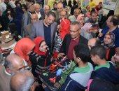 صور.. معرض لإنجازات الرئيس السيسى بمديرية تعليم الإسكندرية
