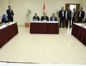 الوفد الأمنى المصرى يستقبل لجنة الدفاع عن خريجى غزة