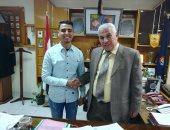 وكيل تعليم البحيرة يستقبل رئيس لجنة العلاقات العامة بإتحاد طلاب مصر