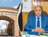 رئيس جامعة كفر الشيخ يتفقد معرض الفنون التشكيلية لطلاب جامعة الزقازيق