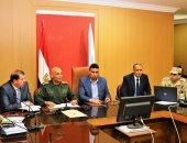 """استعراض للمشروع التعبوى """"صقر 25"""" لإدارة الأزمات والكوارث بكفر الشيخ"""