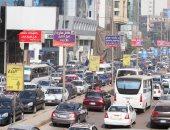 كثافات مرورية بشارع السودان وكوبرى 15 مايو بسبب مجمعات المدارس