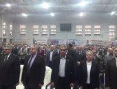 بدء مؤتمر عمال بترول السويس لتأييد السيسى فى انتخابات الرئاسة