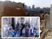 """صور وفيديو.. هدم أخطر منطقة عشوائية بالقاهرة.. نقل 1300 أسرة يسكنون أسفل الصخور بـ""""إسطبل عنتر"""" وتوفير بديل ملائم.. لجنة علمية لبحث كيفية الاستفادة من المكان.. والمحافظة تبحث تظلمات غير المستحقين"""
