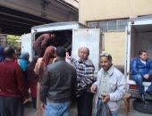 """""""صرف صحى القاهرة"""" توفر منافذ متحركة لبيع السلع الغذائية لعامليها بأسعار مخفضة"""