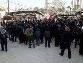 رئيس اللجنة الدولية للصليب الأحمر يرافق قافلة مساعدة إلى الغوطة الشرقية
