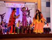 """صور..افتتاح """"مسرح مصر للأطفال"""" بـ""""صياد العفاريت"""""""