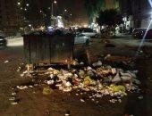 قارئ يشكو من انتشار القمامة بالمنطقة العاشرة فى مدينة نصر
