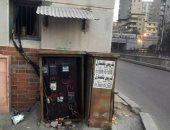قبل الكارثة.. مطالب بصيانة كابينة كهرباء فى شارع قناة السويس بالإسكندرية