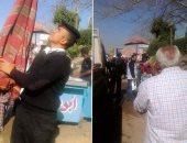 صور.. أمن القاهرة يضبط مخالفات بالجملة فى حملة إزالة إشغالات بوسط البلد