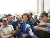 فيديو وصور.. وزيرة التخطيط: مشروع العاصمة الإدارية الجديدة يوفر 500 ألف فرصة عمل