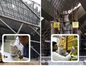 رئيس الهيئة الهندسية للقوات المسلحة يصل المتحف المصرى الكبير
