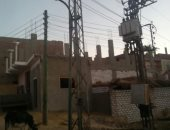 قارئ يشكو من وجود محولات الكهرباء وسط المنازل بقرية الريانية بسوهاج