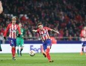 فيديو.. أتلتيكو مدريد يُنهى الشوط الأول أمام لوكوموتيف بهدف