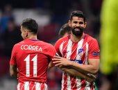 أتلتيكو مدريد يكتسح لوكوموتيف فى الدوري الأوروبي بثلاثية.. فيديو
