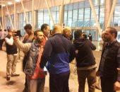 وصول بعثة المصرى البورسعيدي إلى مطار القاهرة