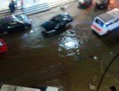 قارئ يشكو غرق شارع مدرسة الجيل الحر بعزبة النخل فى مياه الصرف الصحى