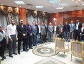 محافظ بورسعيد يجتمع بمجلس نقابة المهندسين الجديد