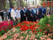 وزير الزراعة: تصدير طن واحد من الزهور يوفر 300 فرصة عمل مباشر وغير مباشرة