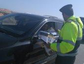 ضبط 3414 مخالفة مرورية بمحاور و ميادين الجيزة خلال 24 ساعة