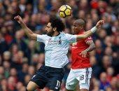 محمد صلاح يرد على أشلي يونج بعد خروج مانشستر يونايتد من دورى الابطال