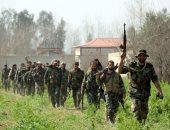 """التليفزيون السورى: مدينة """"حرستا"""" بالغوطة الشرقية خالية من مقاتلى المعارضة"""