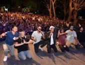 """تألق فريق """"شارموفرز"""" فى حفل جماهيرى كبير بحديقة الحرية"""
