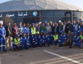 فيديو.. رئيس مياه مطروح: شركتنا الوحيدة فى إفريقيا الحاصلة على شهادات tsm