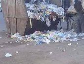 شكوى من انتشار القمامة بشارع طومان باى فى حلمية الزيتون