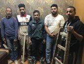 القبض على 5 أشخاص أثناء التنقيب عن الآثار داخل عقار بمصر القديمة