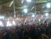 """مؤتمر """"كلنا معاك من أجل مصر"""" بالبحيرة يعرض فيلما تسجيليا عن إنجازات السيسي"""