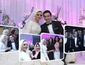 أوكا وأورتيجا يحييان حفل زفاف مدير نيابة الأسرة بالمعادى