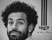 فنان شاب يشارك ببورتريه للاعب محمد صلاح