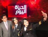 قائدات طائرات مصر للطيران لخالد أبو بكر: نعتز بشركتنا وسنحافظ على المستوى المتقدم