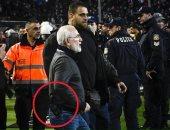 إيقاف النشاط الكروى فى اليونان بعد اقتحام مالك باوك الملعب بمسدس