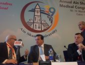 وزير التعليم العالى يفتتح المؤتمر الدولى الــ 39 لطب جامعة عين شمس