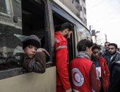 إصابة 4 من موظفى الهلال الأحمر السورى فى انفجار بمدينة حرستا