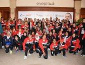 أبطال الأولمبياد الخاص يهدون إنجازهم للرئيس السيسي