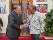 وزير الخارجية يسلم الرئيس الكينى رسالة من السيسى ويدعوه لزيارة القاهرة