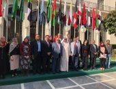 """""""منظمة خريجى الأزهر"""" تشارك فى الاحتفال السنوى بالتراث بجامعة الدول العربية"""
