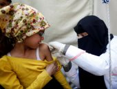 صور.. حملة لتطعيم أكثر من مليونى طفل ضد الدفتيريا فى 20 محافظة يمنية