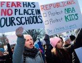 الآلاف يتظاهرون أمام البيت الأبيض للمطالبة بمنع تكرار حوادث إطلاق النار