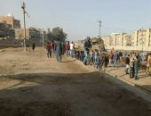مواطن يشارك بصورة لخروج قطار عن القضبان فى مركز أبو كبير بالشرقية