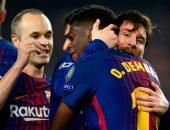ميسي المئوي يقود برشلونة إلى ربع النهائي بالضربة القاضية أمام تشيلسي