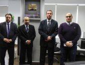 """صور.. وفد من السفارة الفلسطينية بالقاهرة فى زيارة """"اليوم السابع"""""""
