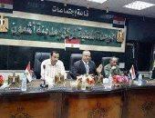 رئيس مدينة أشمون يجتمع بموظفى الإدارة الهندسية للارتقاء بخدمة المواطنين