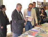 رئيس معرض القاهرة للكتاب: هيئة البريد وافقت على عمل طابع تذكارى لليوبيل الذهبى