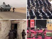 التليفزيون المصرى: مقتل 12 إرهابيا فى مداهمات أمنية بشمال سيناء