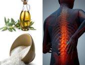 صحتك فى وصفة.. الملح وزيت الزيتون مسكن طبيعى لألم العظام